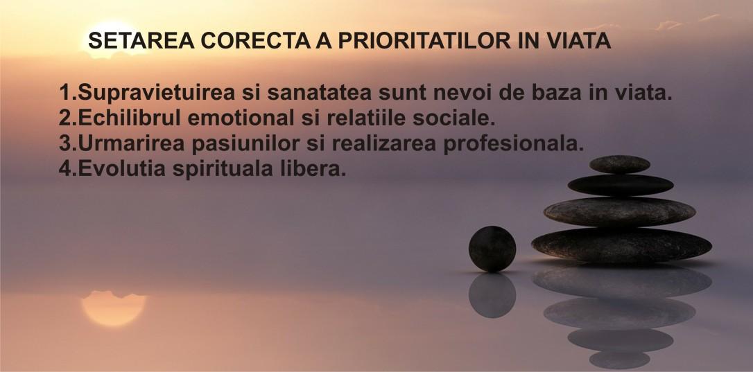 4.Minimalist in Romania - Cum sa iti setezi corect prioritatile in viata