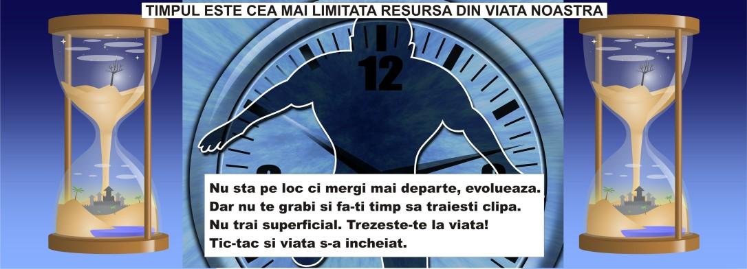 Minimalist in Romania - Timpul - cea mai limitata resursa din viata noastra