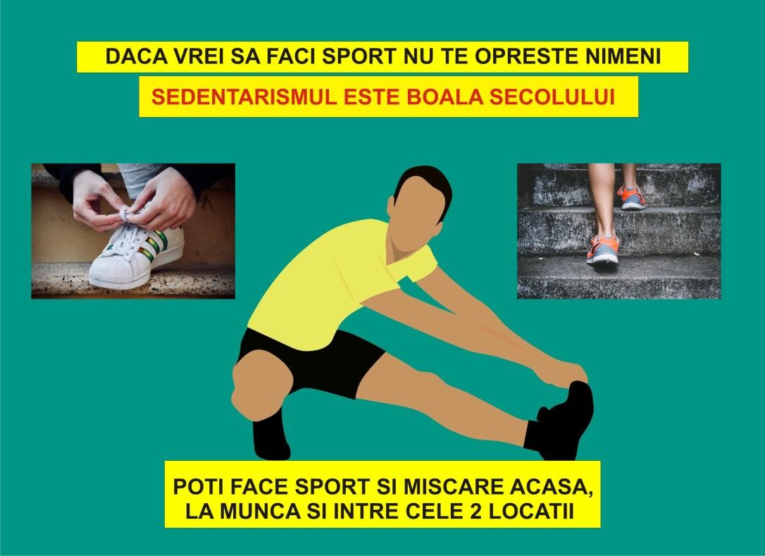 101.3 modalitati pragmatice de a face sport si miscare - traieste sanatos - 20.01.2020