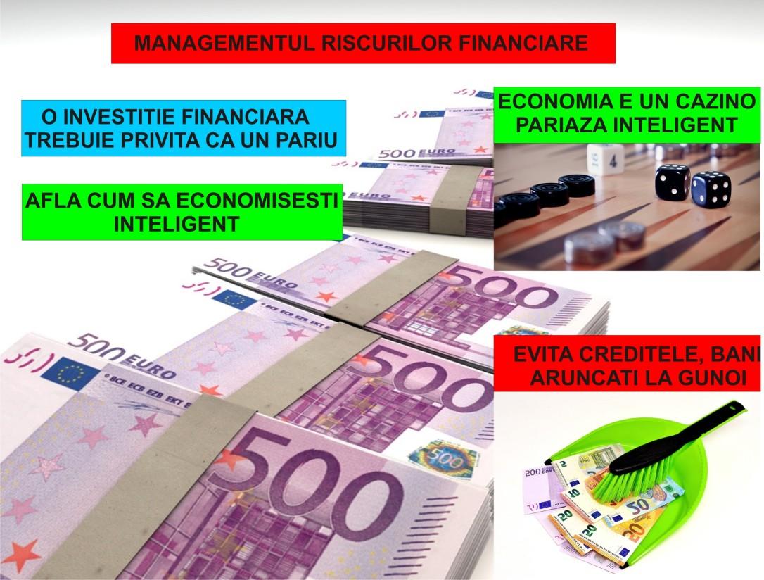 23.Minimalist in Romania - Managementul riscurilor financiare - 15.03.2018