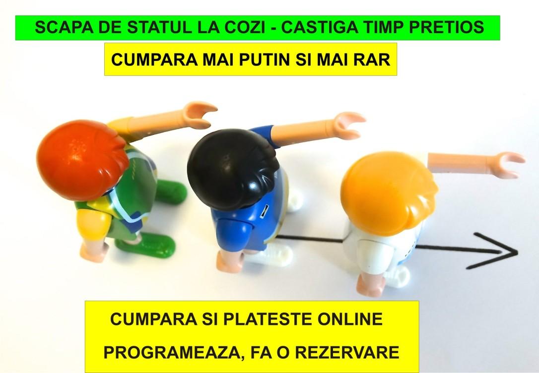 26.Minimalist in Romania - Scapa de statul la cozi - castiga timp pretios din viata ta - 26.03.2018