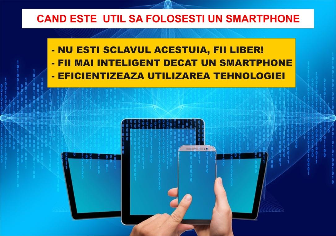30.Dezvoltare personala prin minimalism - Foloseste inteligent un smartphone - nu esti sclavul acestuia - 16.04.2018