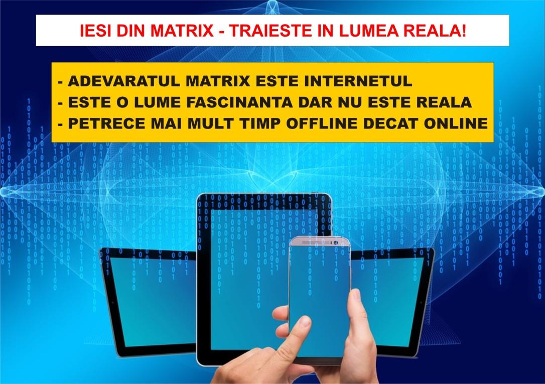 39.Dezvoltare personala - Iesirea din Matrix - Dependenta de internet - 17.05.2018