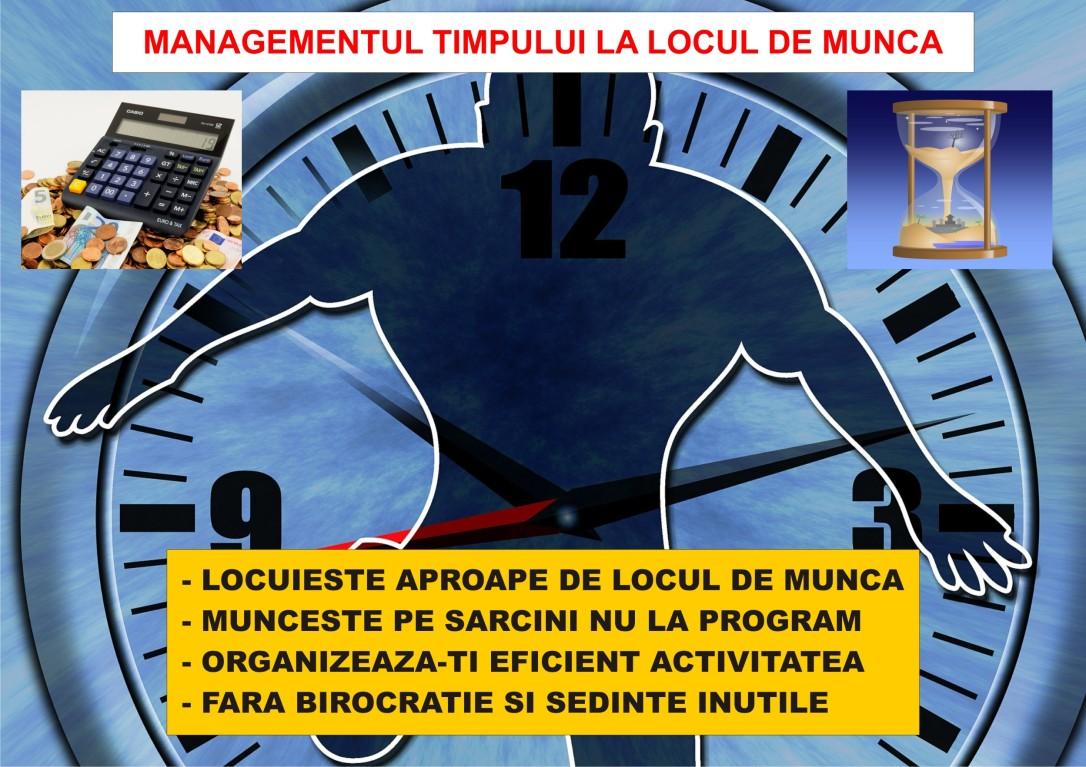 40.Dezvoltare personala - Managementul resurselor - Eficientizarea muncii - 21.05.2018