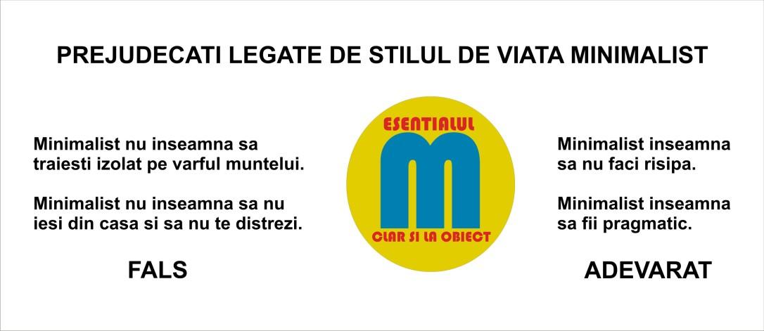 45.Minimalism - prejudecati - dezvoltare personala - 19.06.2018
