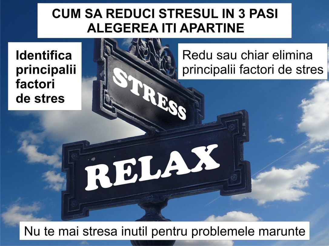 46.Dezvoltare personala - scapa de stres in 3 pasi - 30.06.2018