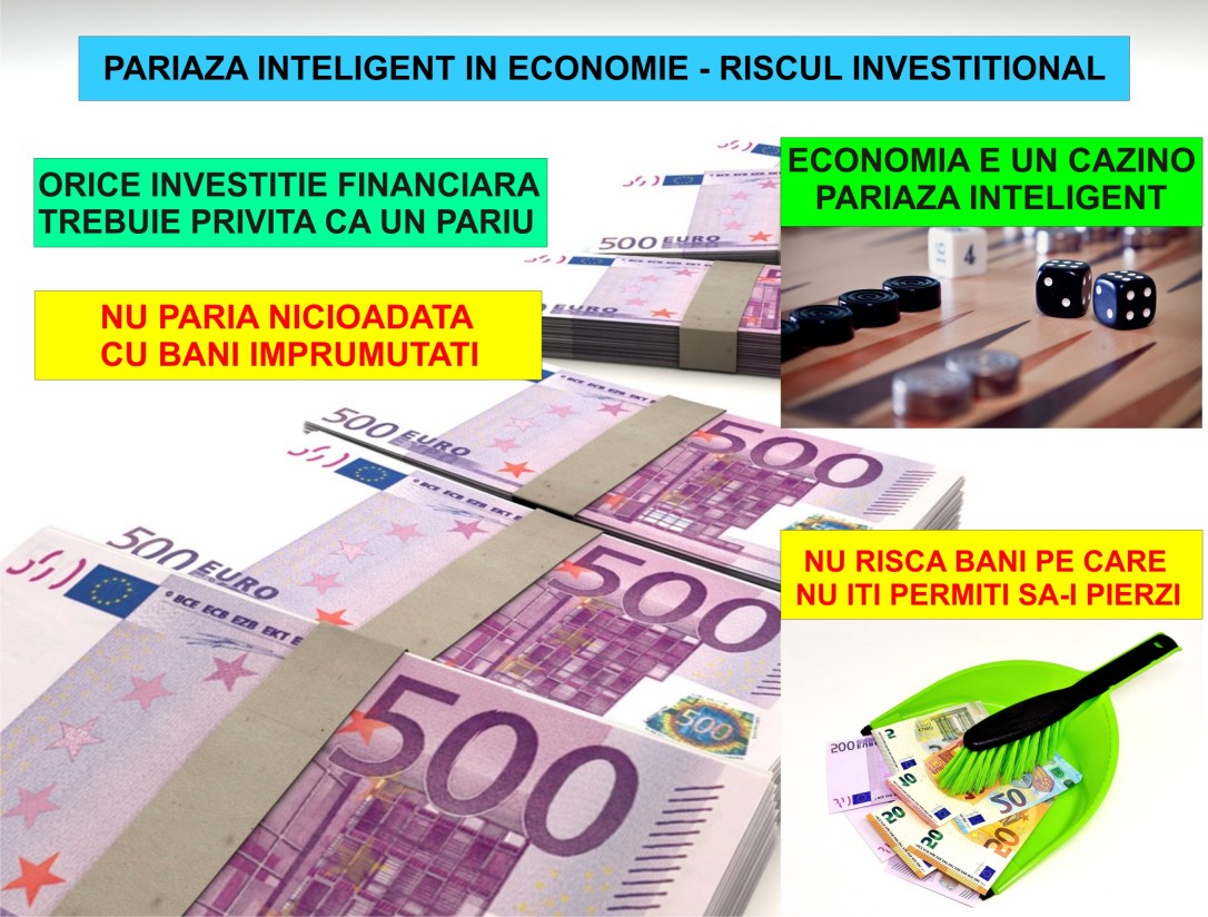 52.Invata sa pariezi inteligent - riscul investitional - 10.09.2018