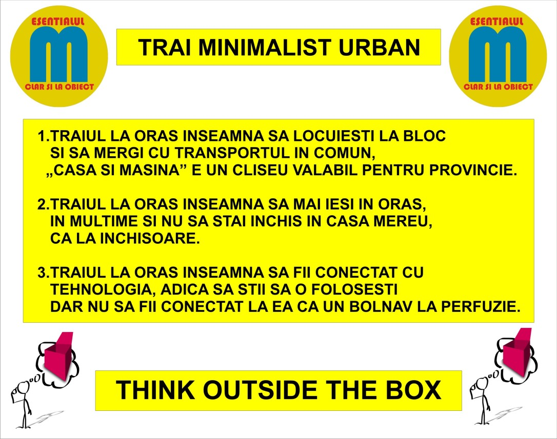 56.Trai minimalist urban - ce inseamna sa traiesti la oras - 10.10.2018