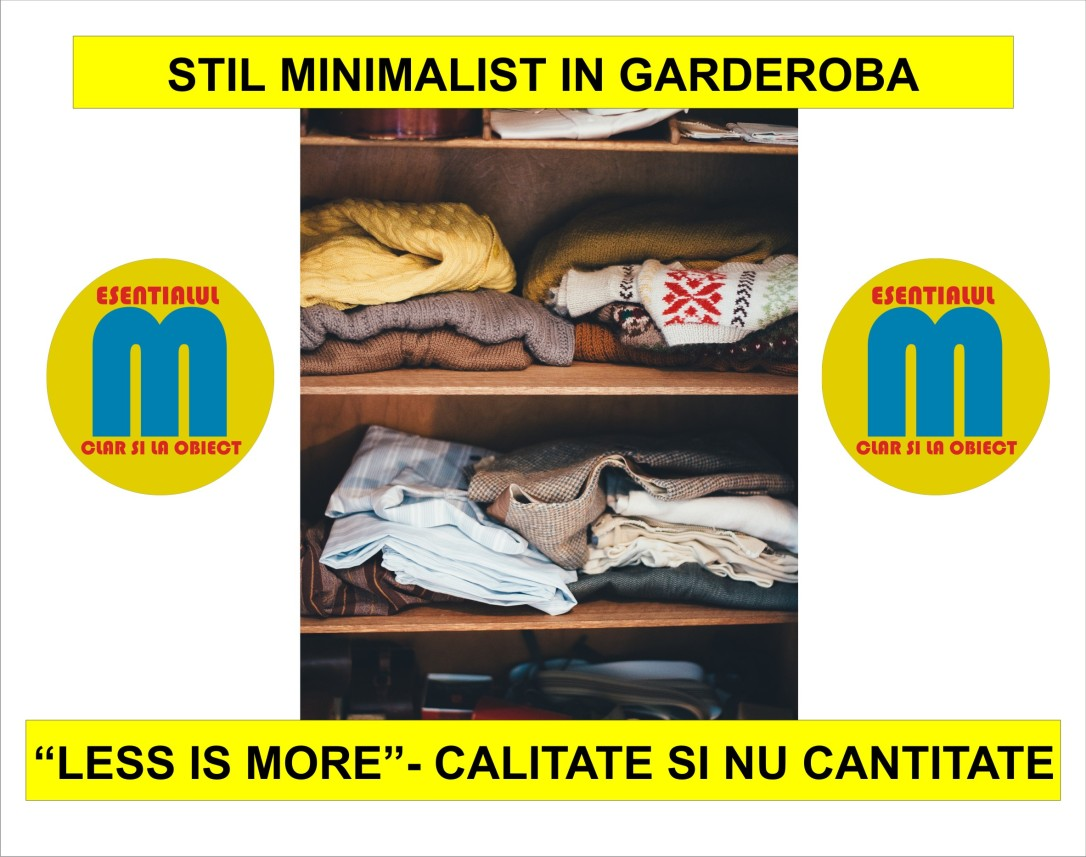 57.Stil minimalist in garderoba - cum sa faci ordine in sifonier - 22.10.2018