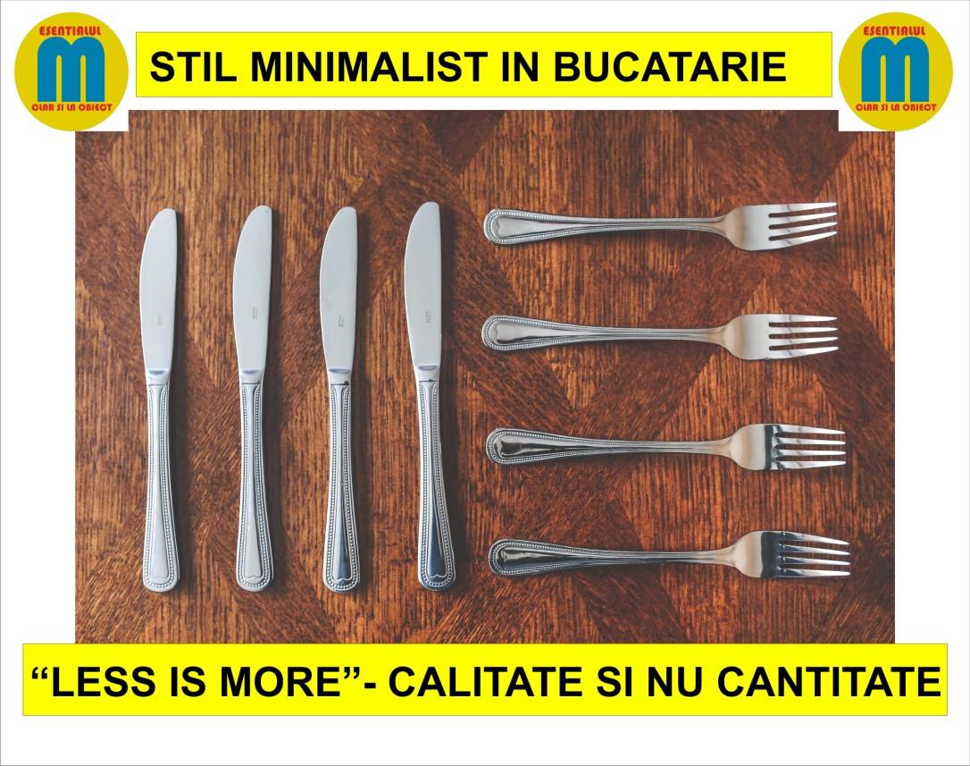 59.Bucatarie minimalista - cum sa faci ordine la bucatarie - 13.11.2018