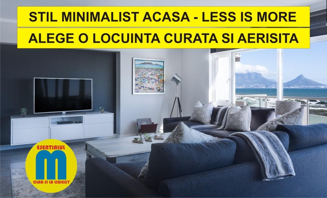 67.Stil minimalist in locuinta - minimalism romania - 15.02.2019