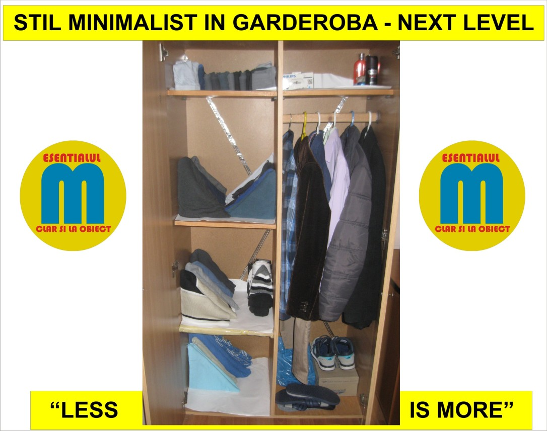78.Stil minimalist in garderoba - the next level - 11.05.2019