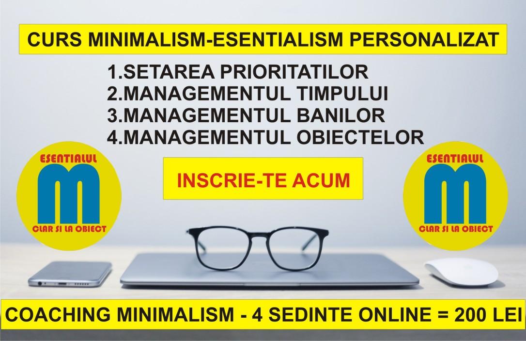 83-68.Curs minimalism online - interactiv si personalizat - update iun 2019