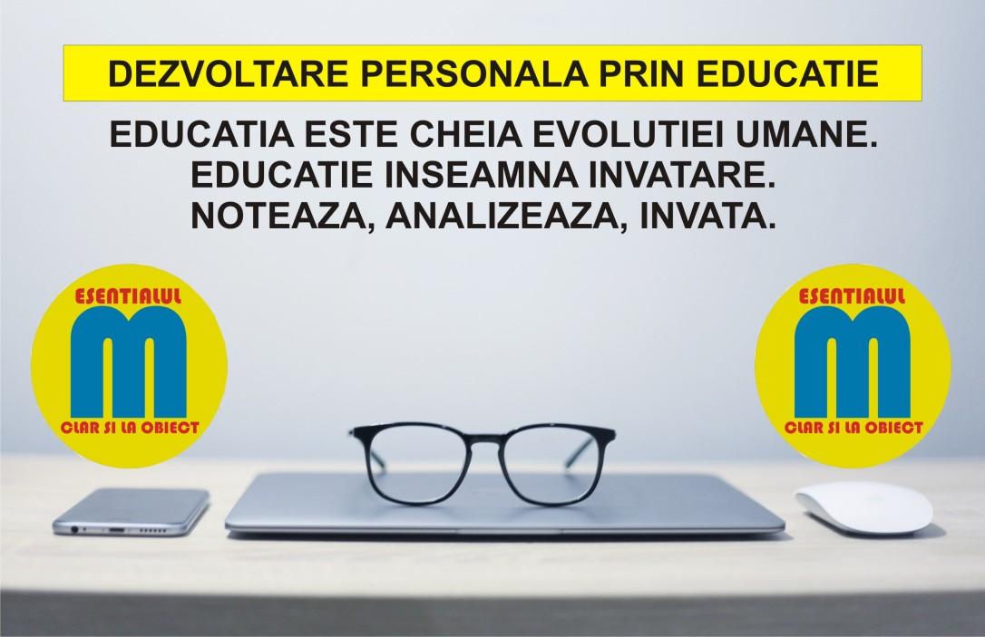 89.Dezvoltare personala prin educatie - 11.08.2019