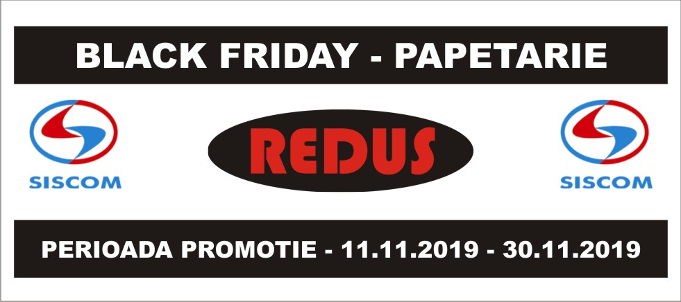 black friday siscom papetarie - nov 2019 - 980x435