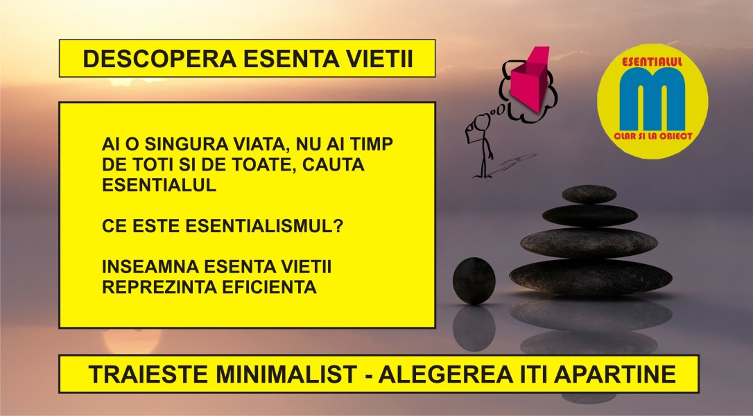 108.Traieste minimalist - descopera esenta vietii - 29.03.2020