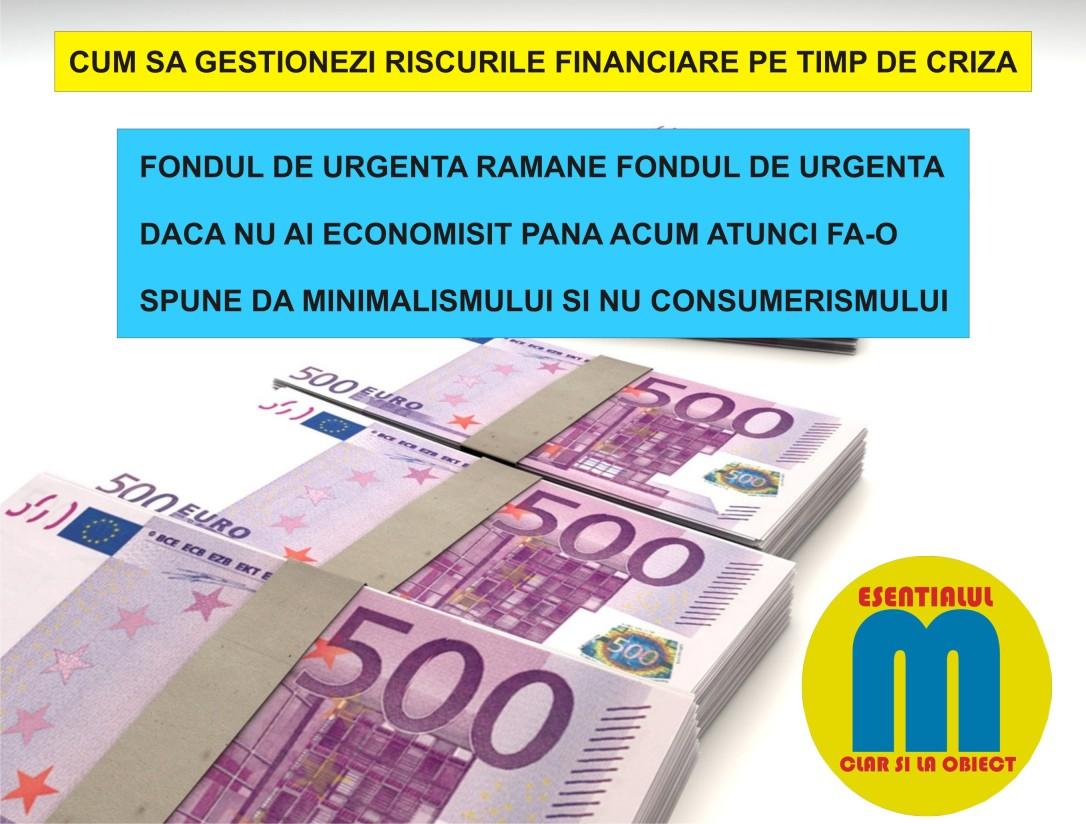 111.Cum sa gestionezi riscurile financiare pe timp de criza - 29.04.2020