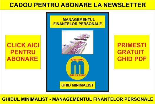 Abonare la newsletter - varianta 3 - 03.06.2020