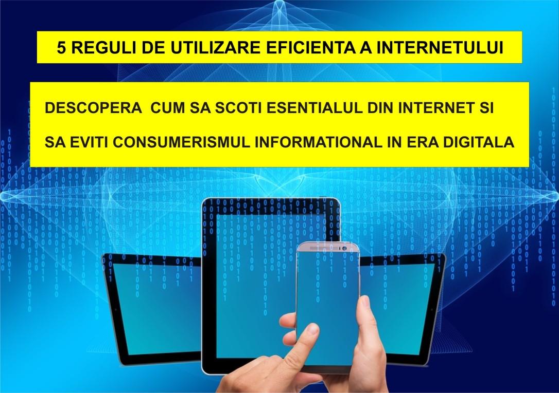119. 5 reguli de utilizare eficienta a internetului - 23.07.2020